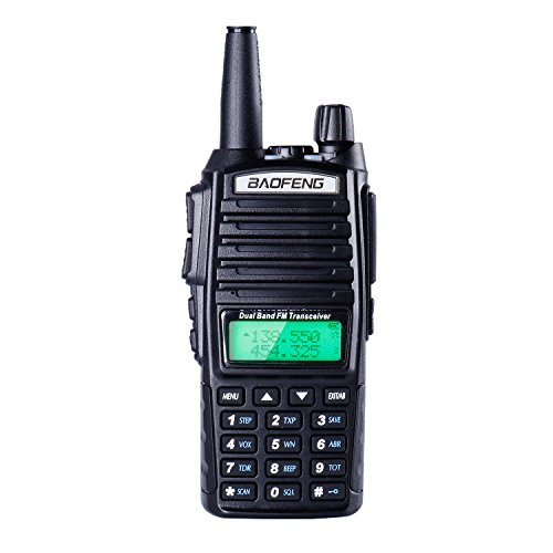 BaoFeng UV82 UHF High Power Intelligent FM long range with Built-in light LED Walkie Talkie Dust-proof and Waterproof two-way radio by BaoFeng