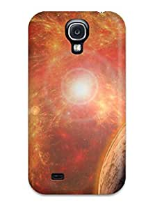 New Sci Fi Planets Tpu Case Cover, Anti-scratch Lisa E Murphy Phone Case For Galaxy S4