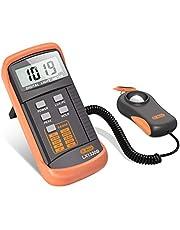 Dr.meter Digital Light Meter, 0-200,000 Lux Light Lux Meter, High Accuracy Illuminance