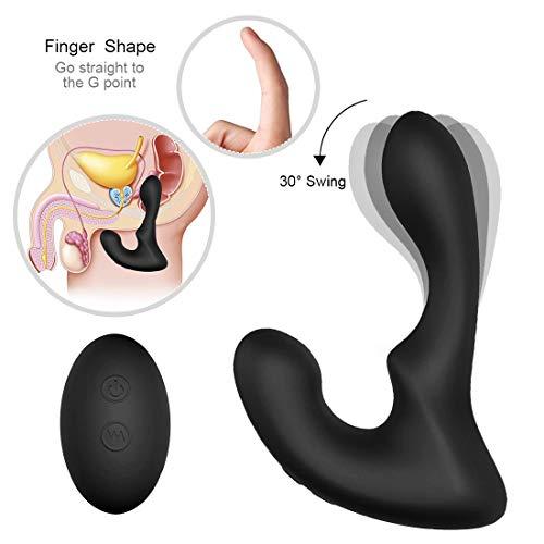 USB Charging Prôstàté Massager Moving 360 Degree Rotation Wireless Remote Control Prostata for Men Amal Six-Toys, Tshirt