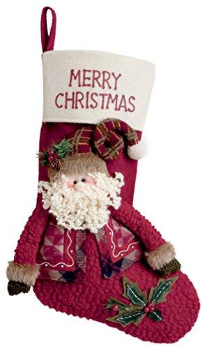 Boston International Santa Merry Christmas Stocking by Boston International
