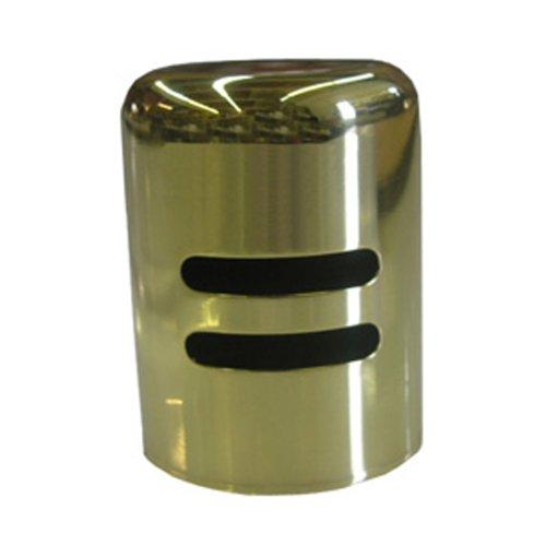 Simpatico 30203P Dishwasher Air Gap Metal Trim Cap, Polished Brass (Brass Air Gap)
