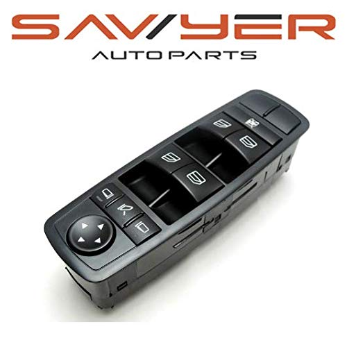 Mirror Electric Folding - Drivers Side Electric Power Window Master Switch for 07-12 Mercedes Benz w/Folding Mirrors