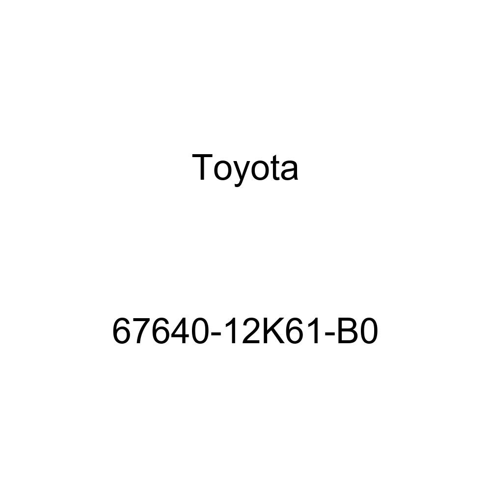 Genuine Toyota 67640-12K61-B0 Door Trim Board