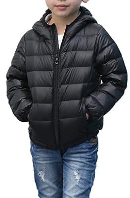 ZSHOW Children's Down Coats Lightweight Outwear Hooded Puffer Coat Down Jackets