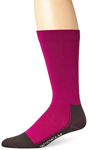 Wigwam Women's Snow Whisper Pro Ultra-Lightweight Ultimax Ski Sock, Hot Magenta, Small