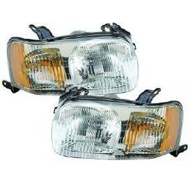 Ford Headlight Assembly (Ford Escape Headlights Headlamps OE Style Replacement Driver/Passenger Pair New)