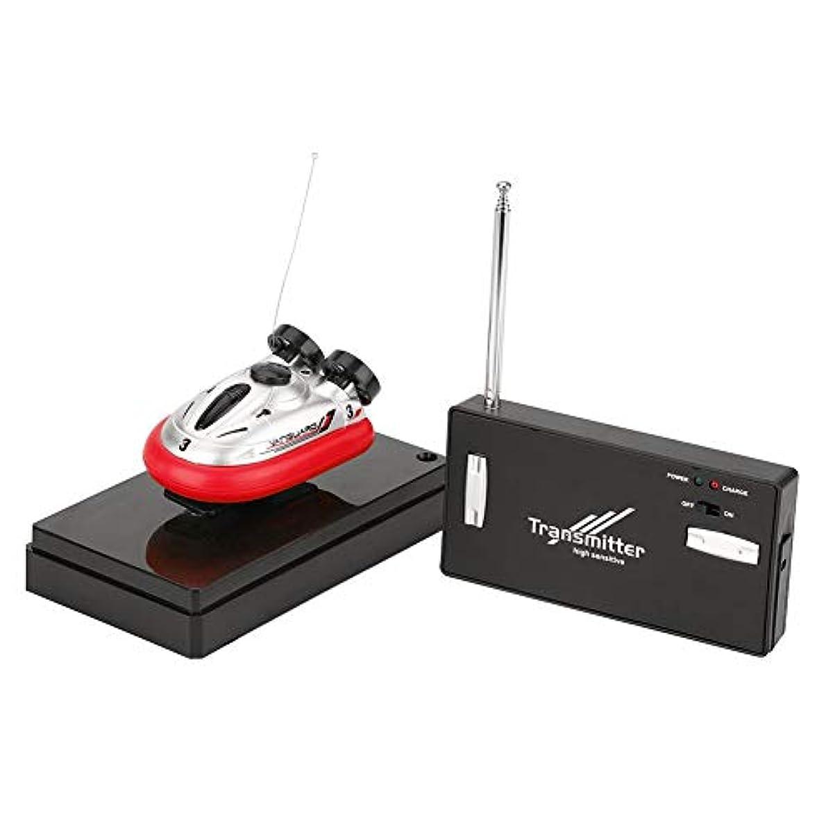 [해외] 미니 리모콘 보트 아이 장난감RC전동 스피드 보트 스포츠 hovercraft(레드)
