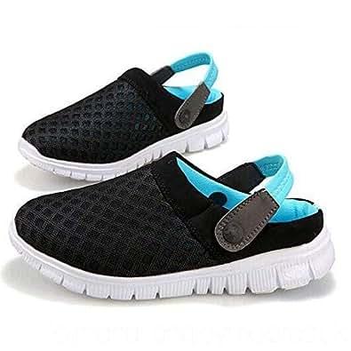 ROCK Black & Turquoise Comfort Sandal For Unisex