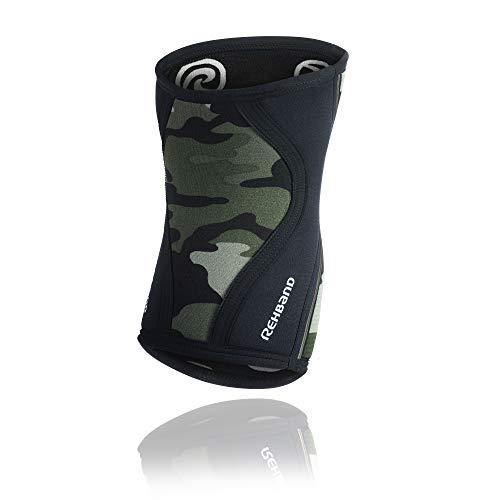 Rehband Rx Knee Sleeve 7mm - Camo - Medium - 1 Sleeve