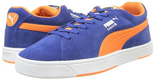 Puma Suede S Zapatillas Skate, Hombre Limoges/Orange