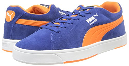 Puma , Herren Sneaker Gray - Blu Limoges Limoges/Orange