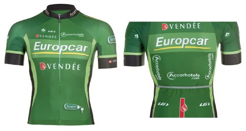 Amazon Com Louis Garneau Europcar Team Jersey Large Sports Outdoors