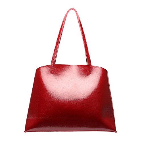 Charol mujer Medium Girl Rojo hombro E de Bolso al para RXn0q