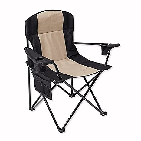 Magnificent Amazon Com Oversized Folding Quad Chair In Black Dailytribune Chair Design For Home Dailytribuneorg