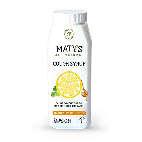 Maty's All Natural Cough Syrup 6 fl oz, Made with Immune Boosting Buckwheat Honey best to buy