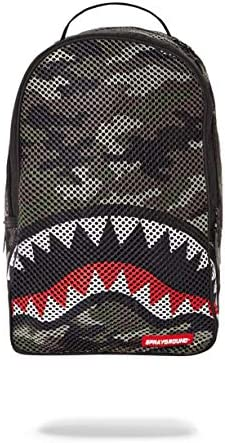 SPRAYGROUND BACKPACK CAMO MESH SHARK