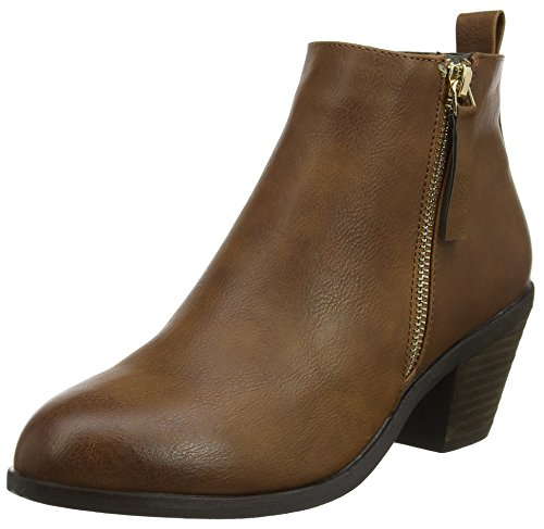 Office Boots Brown tan Women''s Anita xCqRwqYXzB