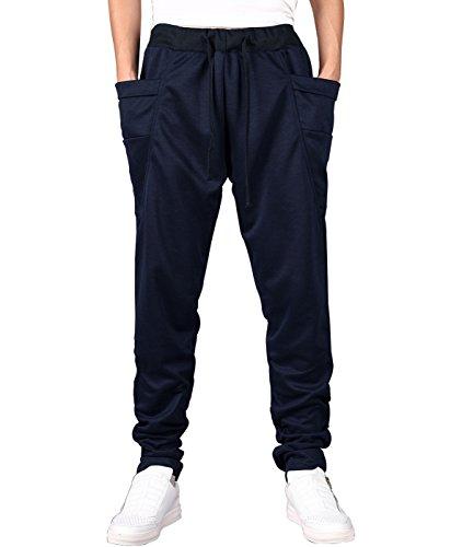 Larkon Men's Jogging Running Trousers Hiphop Lightweight Dance Jogger Pants