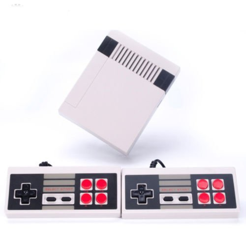 Price comparison product image New Classic Family Game Consoles, Built-in 600 TV Video Game With Dual Controllers,Professional System