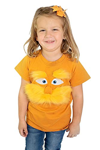 ComfyCamper The Lorax Costume Shirt from Dr Seuss Character, Tee T-Shirts for Kids Girls Boys Adults Men Woman (4-6 Years) (Best Dr Seuss Characters)