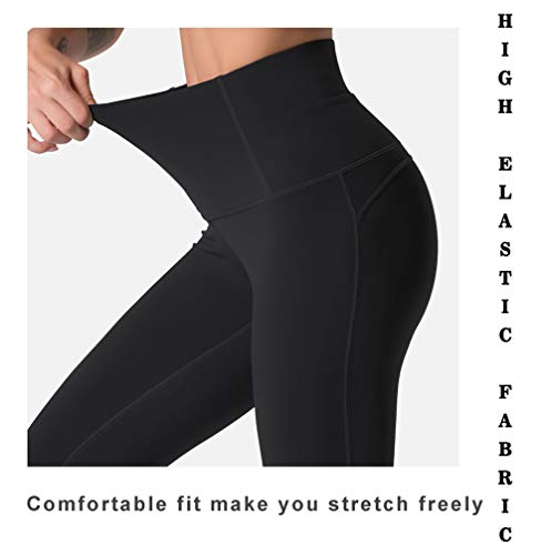 Souke Sports Womens High Waist Yoga Leggings Tummy Control Tights Stretchy Pants for Workout Running Sports Gym Fitness