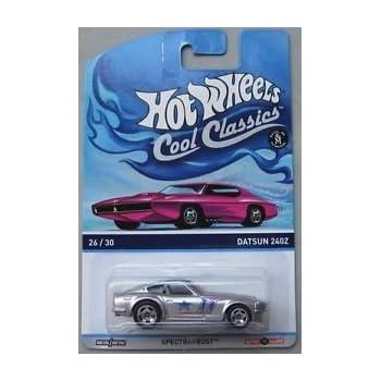 DATSUN 240Z SILVER HOT WHEELS HW COOL CLASSICS DIECAST !READ!
