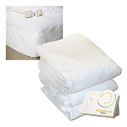 Pure Warmth Cal King Size Electric Heated Mattress Pad Natur
