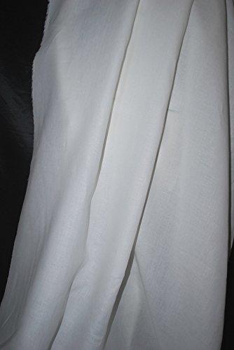 Undyed Linen - 100% Linen Undyed European linen Beautifull 7. 5 oz lineal yard 10 yards cut supply:highendfabrics