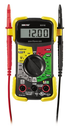 INNOVA 3310 Hands-Free Digital Multimeter (10 MegOhm)