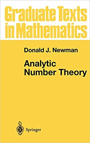 Analytic Number Theory (Graduate Texts in Mathematics, Vol