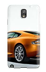 Durable Defender Case For Galaxy Note 3 Tpu Cover(aston Martin Virage 38)