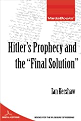 "Hitler's Prophecy and the ""Final Solution"" (English Edition) eBook Kindle"
