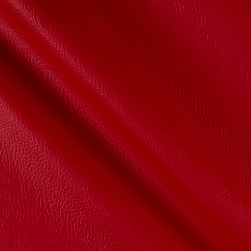 Frisco Vinyl Red Fabric By The Yard