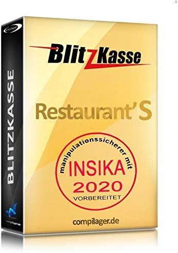 godb Win Casserole et flash kasse Restaurant S pour les restaurants 25/Tables 2/d conforme GDPdU