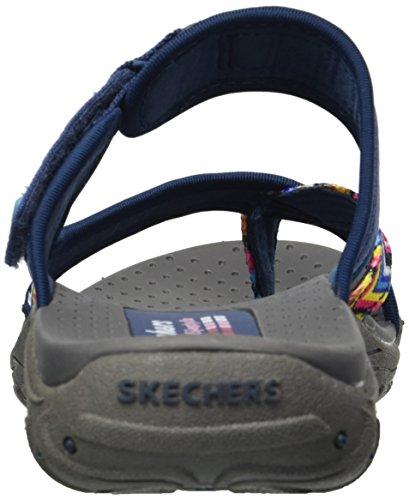 Skechers Da Donna Reggae-zig Swag Flip-flop Navy