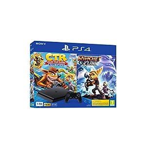 Comprar PS4 1TB + Crash Team Racing + Ratchet & Clank