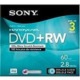 Sony 3DPW60DSR2HC Sony 3Dpw60dsr2hc 2.8Gb Camcorder Double-Sided Dvd-Rw