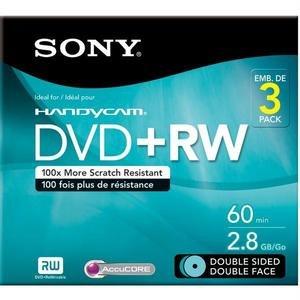 Sony 3DPW60DSR2HC Sony 3Dpw60dsr2hc 2.8Gb Camcorder Double-Sided Dvd-Rw by Sony