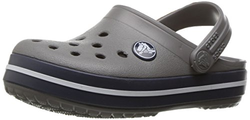 9fe266eb78 Crocs Kids  Crocband Clog Smoke Navy Size Children s 7 US