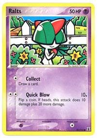 Pokemon - Ralts (81) - EX Delta Species - Reverse Holofoil