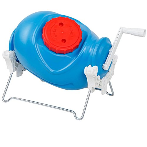 Price comparison product image Jumbl Portable Manual Washer with Hand Crank & Metal Stand – Uses Just 3.17 Gallons to Wash Full Load