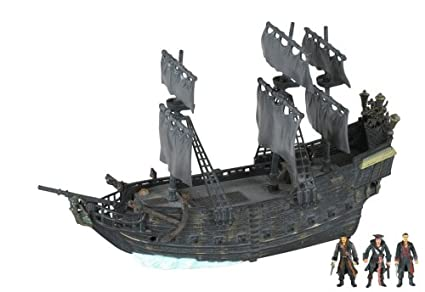 Amazoncom Pirates Of The Carribean 3 Black Pearl With Shipwreck