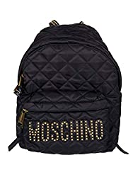 Moschino Women S 7b761182032555 Black Polyester Backpack
