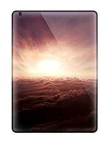 Kfotkcq2158ILKoA Tpu Phone Case With Fashionable Look For Ipad Air - Above The Clouds