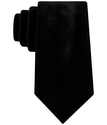 Sean John Men's Velvet Tie, black, One Size