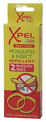 Xpel Kids Mosquito and Insect Repellent Wrist Bands, 2 Count (Pack of 48)
