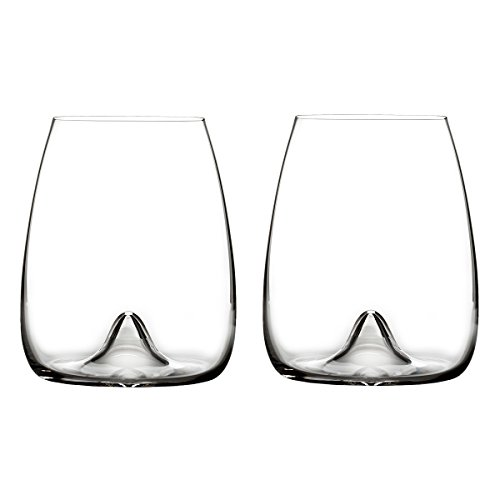 Waterford Elegance Stemless Wine Glass, Pair