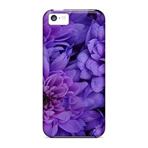High Grade Dana Lindsey Mendez Flexible Tpu Case For Iphone 5c - The Color Purple