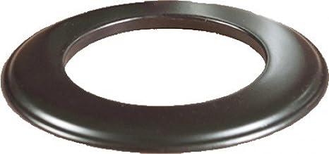 Placa embellecedora pellet-tubo de estufa pellet Em negro mate D80 mm: Amazon.es: Juguetes y juegos